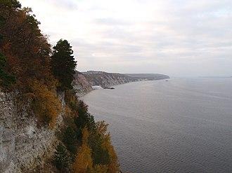 Kuybyshev Reservoir - Image: Volga Rocks
