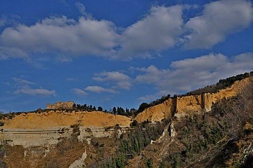 Balze di Volterra, e la badia Camaldolese