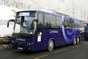 Nettbuss - Image: Volvo 9900 B12B 6x 2 Nettbuss