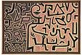 Vorhaben (Intention) by Paul Klee, 1938.jpg