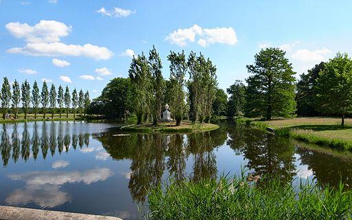 Wörlitz,Rousseau-Insel