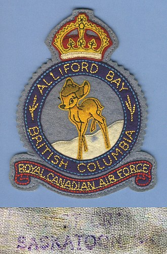 Alliford Bay, British Columbia - Image: WWII RCAF Alliford Bay, B.C