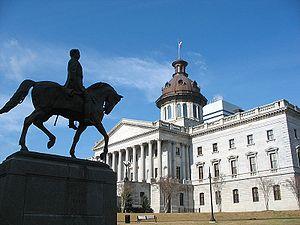 Wade Hampton III - Statue of Wade Hampton at South Carolina State House
