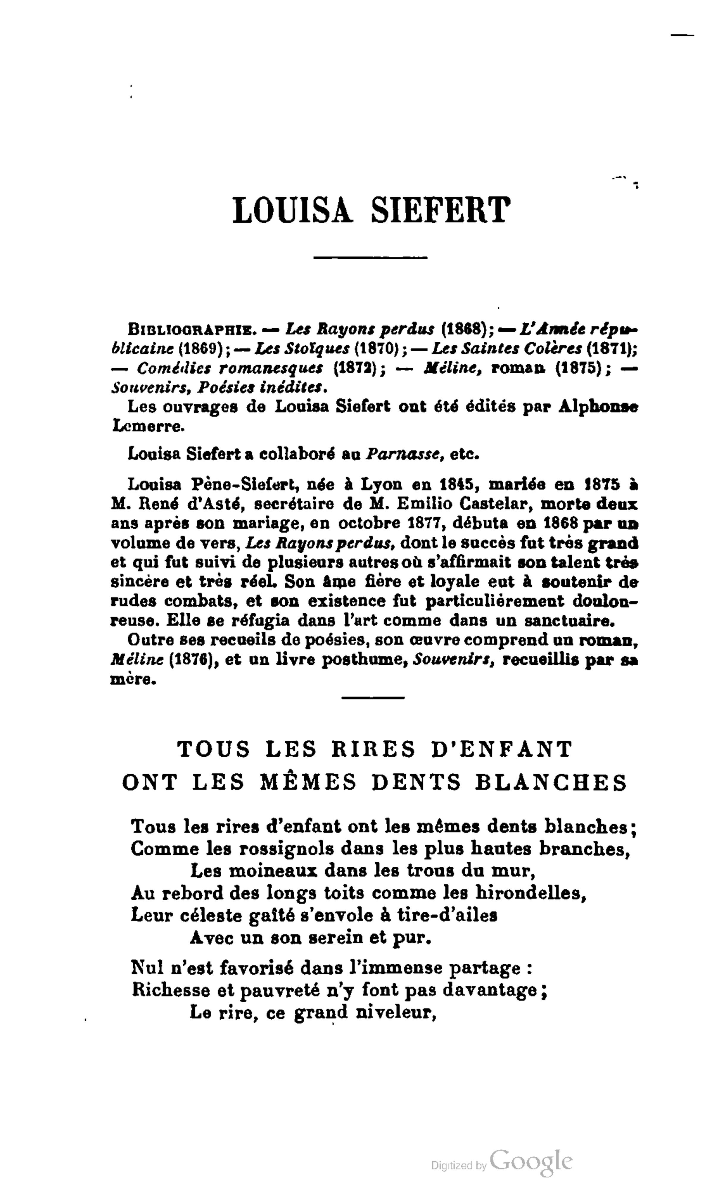 Les Moineaux De La Mariée page:walch - anthologie des poètes français contemporains