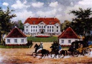 Friedrich Sebastian Wunibald Truchsess zu Waldburg - Family seat of the Waldburg Capustigal
