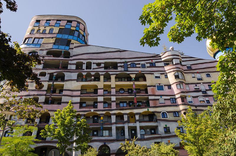 FileWaldspirale - Darmstadt - Friedensreich Hundertwasser - Heinz Springmann - 13.jpg ...