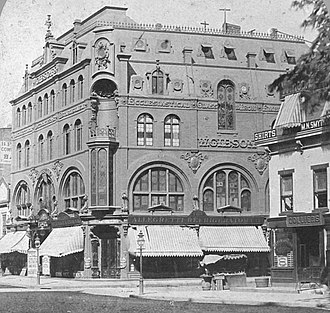 Wallack's Theatre - Image: Wallack's Theatre, from Robert N. Dennis collection of stereoscopic views cropped jpg version