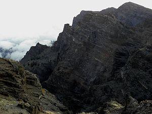 La Palma - Walls of Caldera de Taburiente
