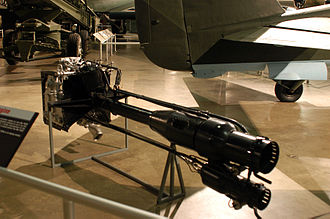 Walter HWK 109-509 - The HWK 509B dual-chamber version, on display at the NMUSAF