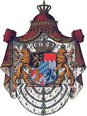Coat of arms of King Ludwig II (Source: Wikimedia)