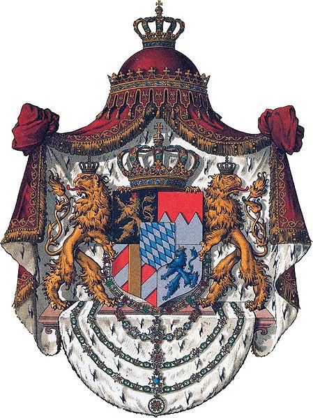 Archivo: Wappen Deutsches Reich - Königreich Bayern (Grosses) jpg.