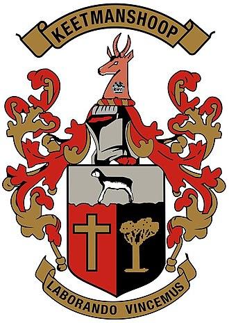 Keetmanshoop - Image: Wappen Keetmanshoop Namibia
