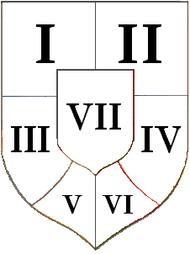 Wappen Ungarische Länder 1915 (Mittel) Numbers