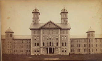 Warren State Hospital - Hospital pictured in 1886