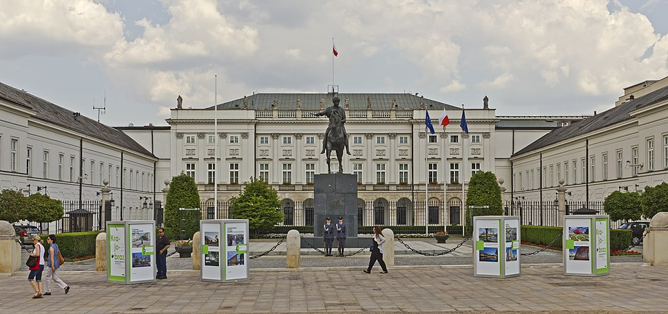 Warsaw 07-13 img26 Presidential Palace