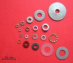 Flat Ring Screw Holes Washer
