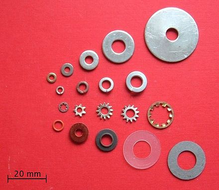 Assorted washers (Wikipedia)