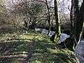 Water pipe over Afon Gwaun - geograph.org.uk - 1158787.jpg