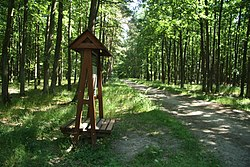 Way of educational trail Hrotovicko and biketrail 401 near Hrotovice, Třebíč District.JPG
