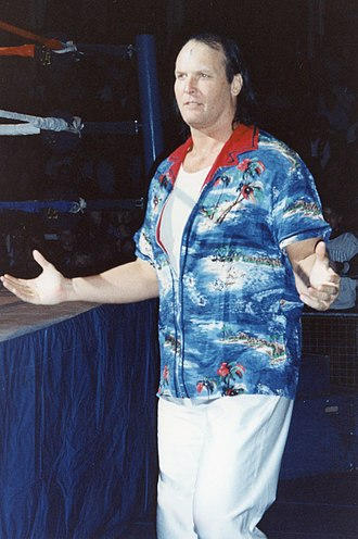 Dan Spivey - Spivey as Waylon Mercy in October 1995