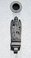 Werl, Budberg, St. Michael Figur des Hl. Michael über dem Eingang.jpg
