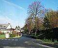 Werl, Hilbeck, Ortsdurchfahrt am Friedhof 2.JPG