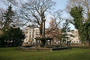 Abraham Carel Wertheim - Fountain commemorating Wertheim in the Wertheimpark in Amsterdam