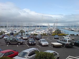 West Harbour, Auckland - One of the main features of the local area is the West Park Marina and West Harbour Ferry Terminal.