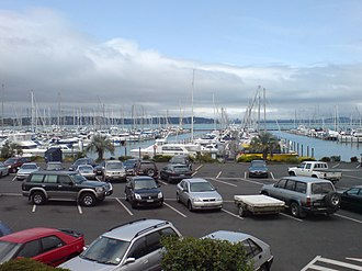 West Harbour, Auckland - One of the main features of the local area is the Hobsonville Marina and West Harbour Ferry Terminal.