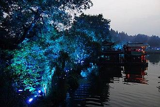 West Lake - West Lake at night