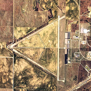 West Woodward Airport - 2006 USGS Orthophoto