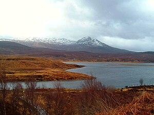 Achanalt - Image: Wester Ross, Loch Achanalt