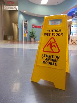 Wet floor sign CANEX