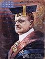 Wettenhovi-Aspa, Jean Sibelius Yalen yliopiston kunniatohtorina.jpg