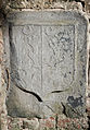 Wexford Selskar Priory Armorial Plaque Richard Stafford and Anstace Sutton 1623 2012 10 03.jpg