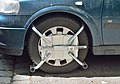 Wheel clamp in Leopoldstadt, Vienna.jpg