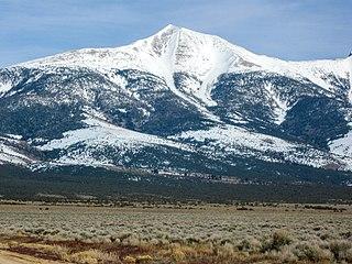 Wheeler Peak (Nevada) mountain in United States of America