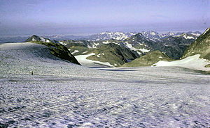 Glacier in Glacier Peak Wilderness, 1973