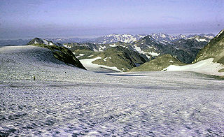 Shortening of glaciers by melting
