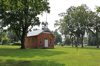 Whiteford Township, Michigan - Image: Whiteford township whiteford schoolhouse