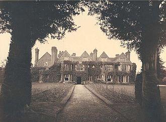 Zachary Babington - Whittington Old Hall, Whittington, Staffordshire, home of Zachary Babington