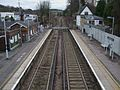 Whyteleafe South stn high southbound.JPG