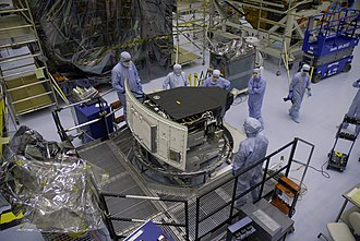 Wide Field Camera 3 - The Wide Field Camera 3 being prepared for its launch aboard STS-125