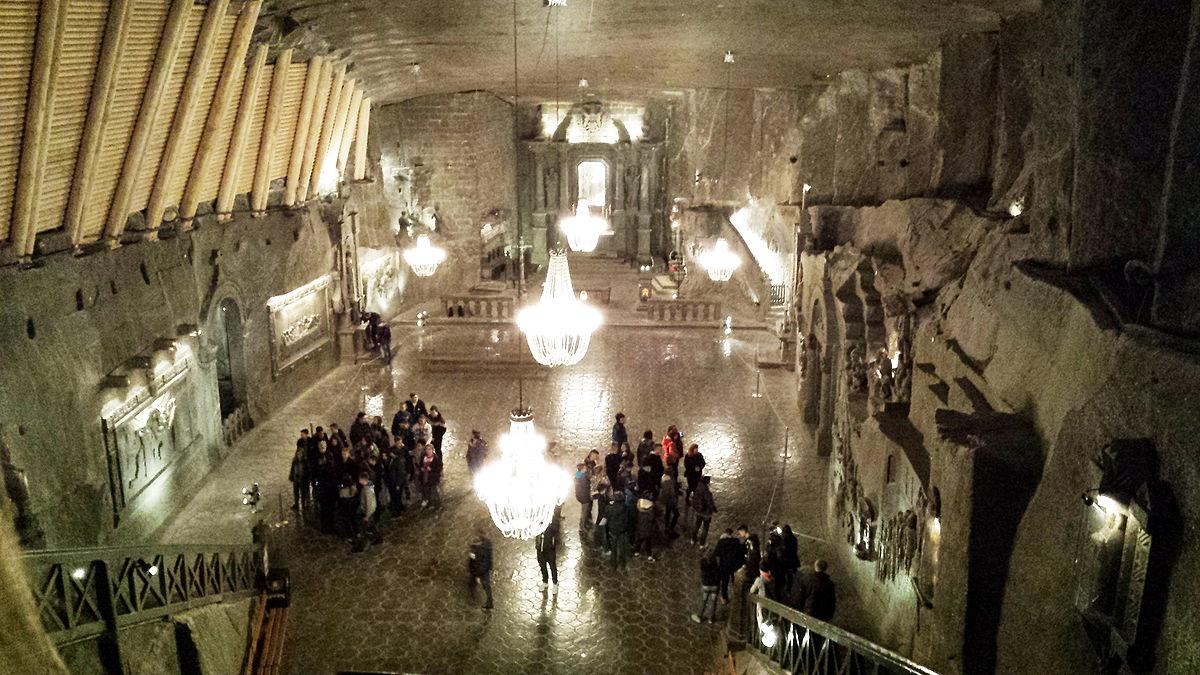 Znalezione obrazy dla zapytania Kopalnia soli w Wieliczce