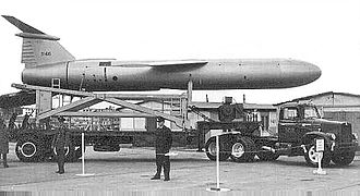 38th Combat Support Wing - A Mace missile at Bitburg AB