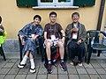 Wikimania 2016 Deryck day 3 - 18 with Ota and Miya.jpg