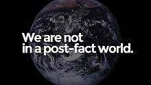 We are not in a post-fact world.