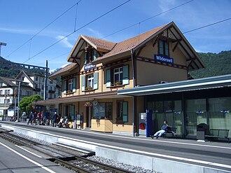 Wilderswil - Wilderswil railway station