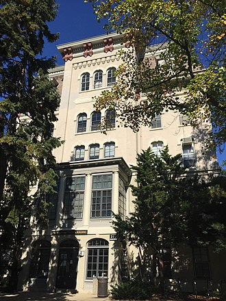 Evanston College for Ladies - Willard Hall served as a music administration building on Northwestern University's campus from 1940 to 2015.