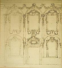 Design for the ornamentation of a façade